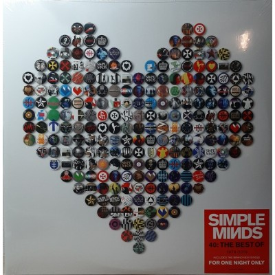 SIMPLE MINDS: 40: THE BEST...