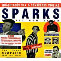 Sparks: Gratuitous Sax & Senseless Violins 3CD