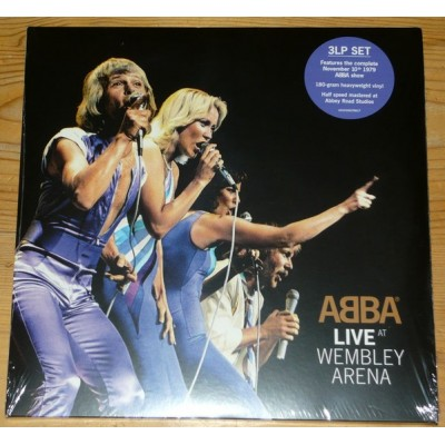 ABBA: LIVE AT WEMBLEY ARENA...
