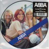 ABBA: NAME OF THE GAME / I WONDER (DEPARTURE) PICTURE 7in