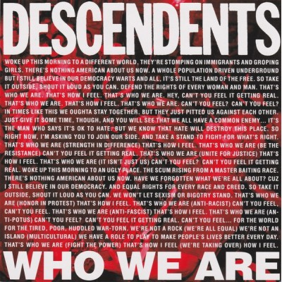 DESCENDENTS: WHO WE ARE...